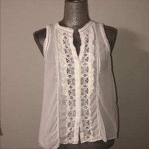 Rebecca Taylor white blouse, size small